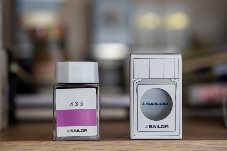 Tag 14: Sailor Studio Ink, 435