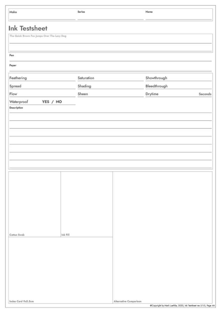 Tintentestbogen, Revision 3.1.0, Seite 4
