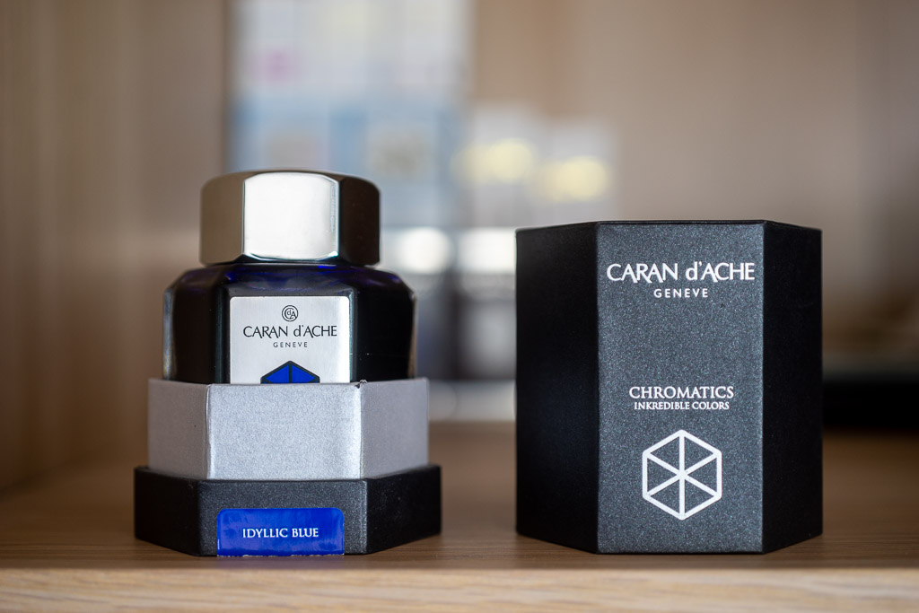 Caran d'Ache Chromatics, Idyllic Blue