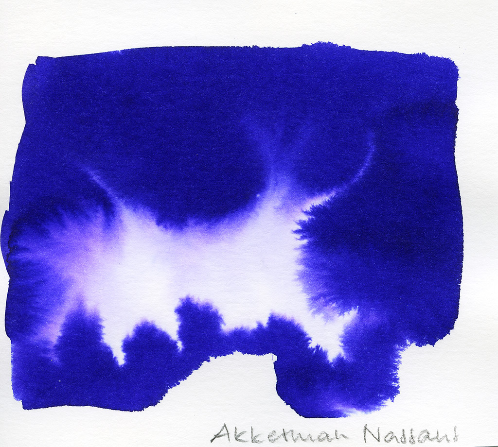 P.W.Akkerman, Nassaus Blauw
