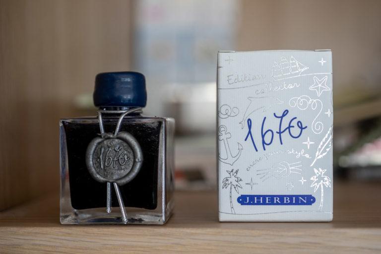 Tag 29: J.Herbin 1670, Bleu Ocean