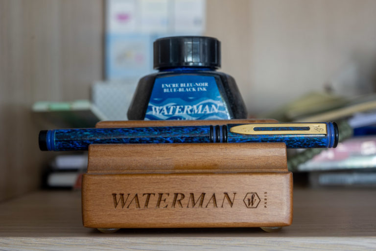 Read more about the article Tag 50: Waterman, BlueBlack