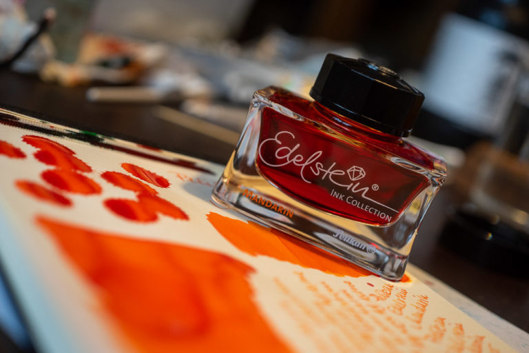 Read more about the article Tag 1: Pelikan Edelstein, Mandarin