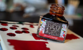 Tag 2: Diamine 150th Anniversary, Blood Orange