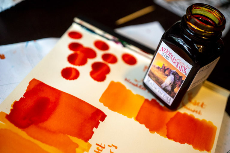 Read more about the article Tag 4: Noodler's, Apache Sunset