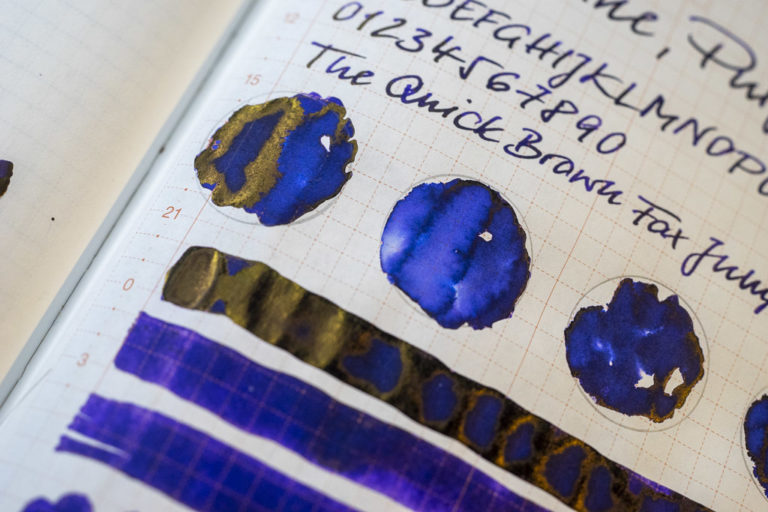 Tinte 1 von 365: Diamine, Purple Rain