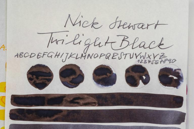 Read more about the article Tinte 26 von 365: Nick Stewart, Twilight Black