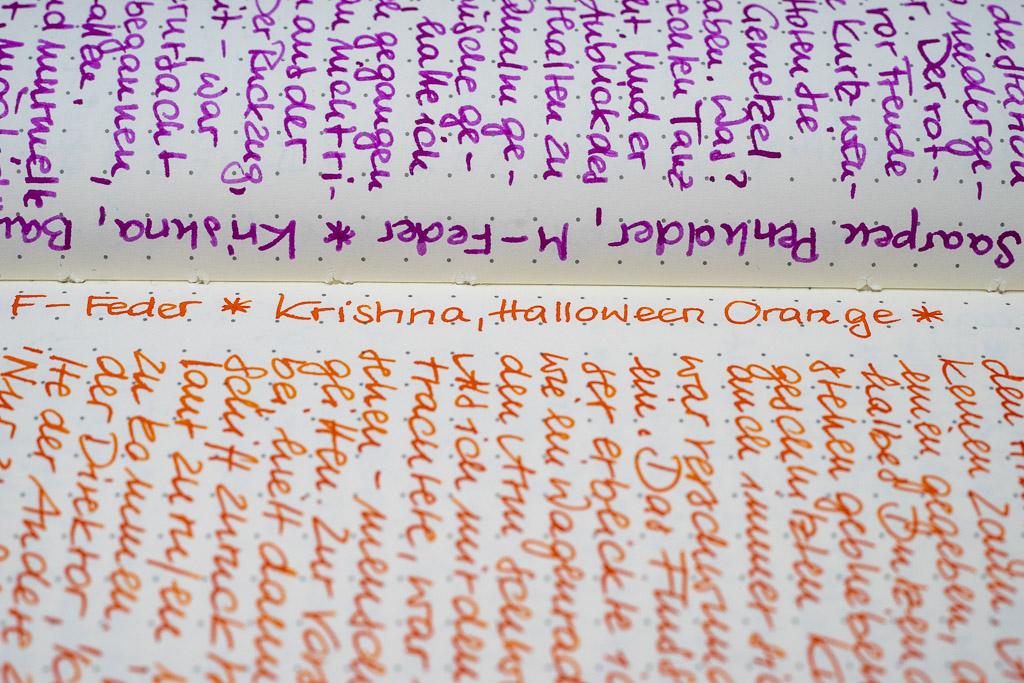 Krishna, Halloween Orange