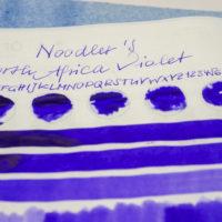 Tinte 41 von 365: Noodler's, North African Violet