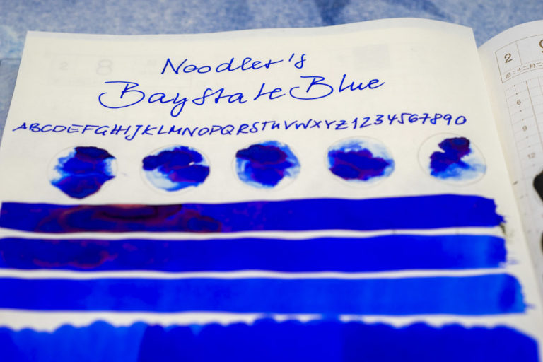 Tinte 39 von 365: Noodler's, Baystate Blue