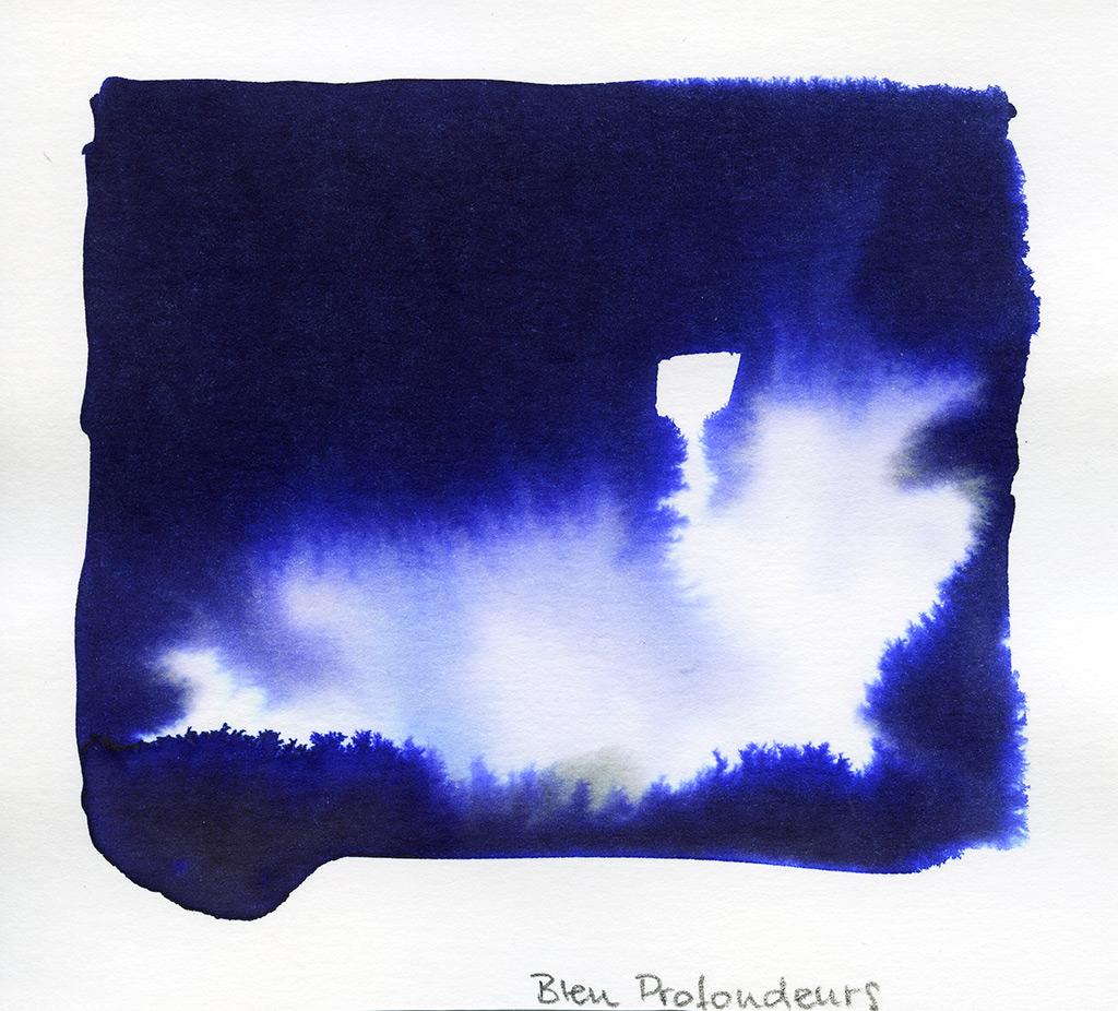 J.Herbin, Bleu des Profondeurs