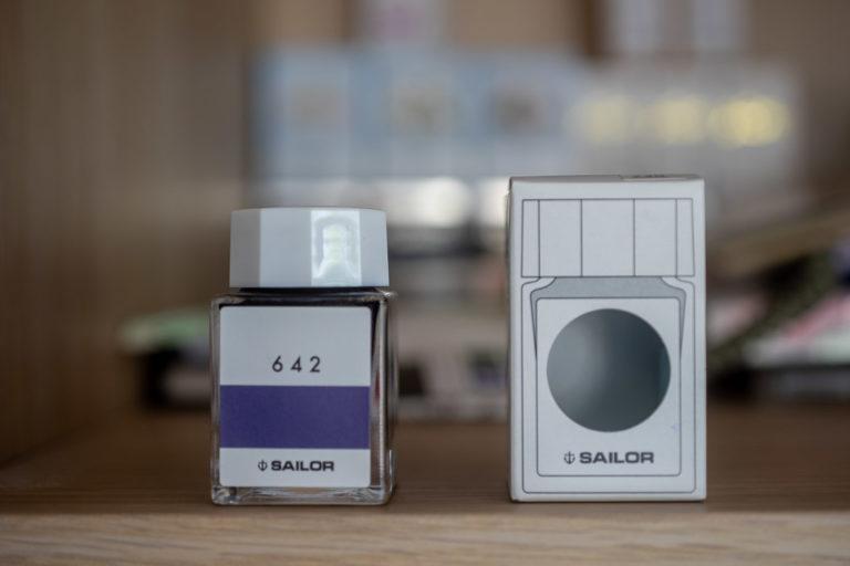 Tag 24: Sailor Studio Inks, 642