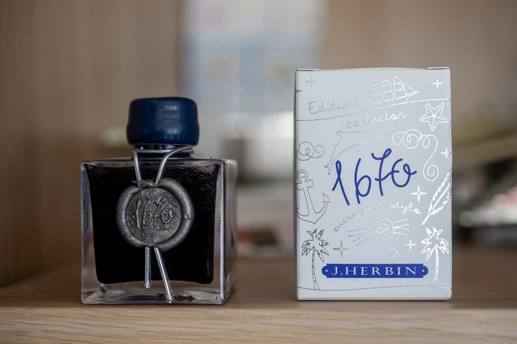 J.Herbin 1670. Bleu Ocean