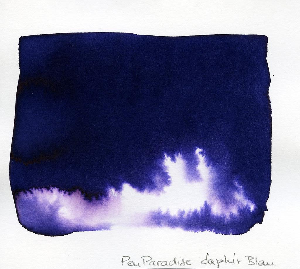 Pen Paradise Ink, Saphir Blau (Lotus Dufttinte)