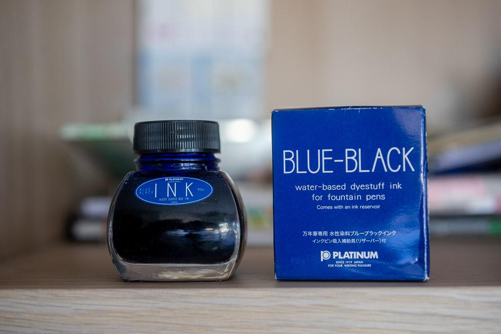 Platinum, BlueBlack