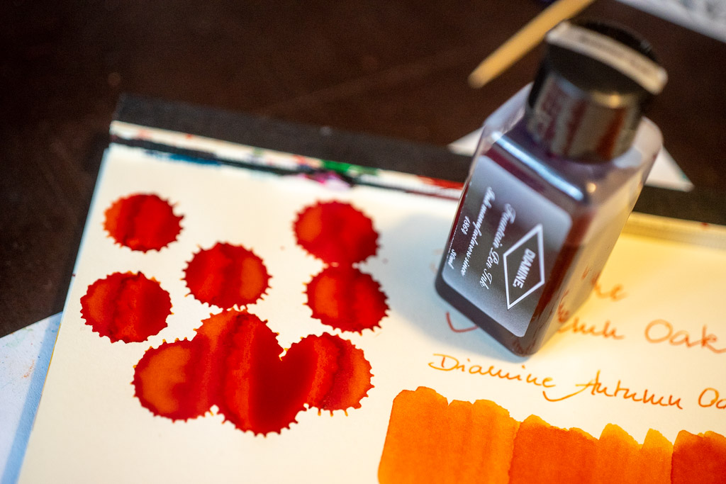 You are currently viewing Tag 3: Diamine, Autumn Oak