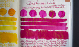 Tinte 5 von 365: Pilot Iroshizuku 100th Anniversary, Bishamonten
