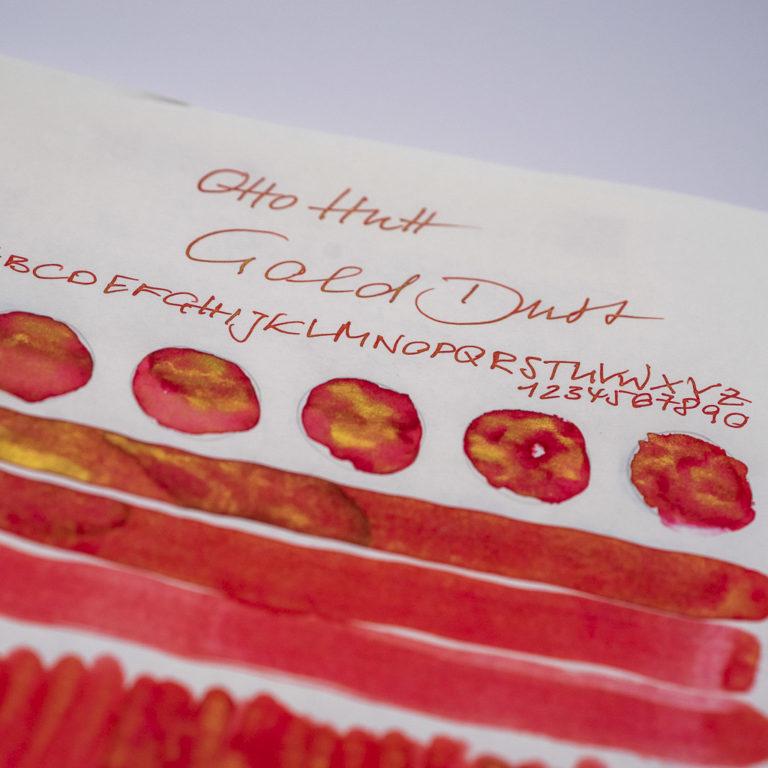 Tinte 18 von 365: Otto Hutt, Gold Dust