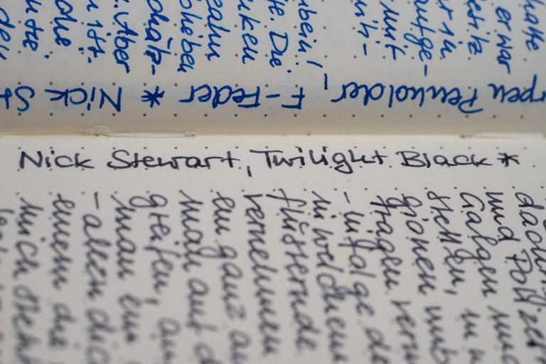 Nick Stewart, Twilight Black