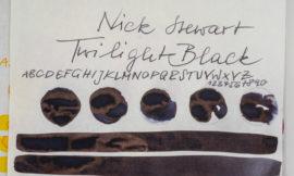 Tinte 26 von 365: Nick Stewart, Twilight Black