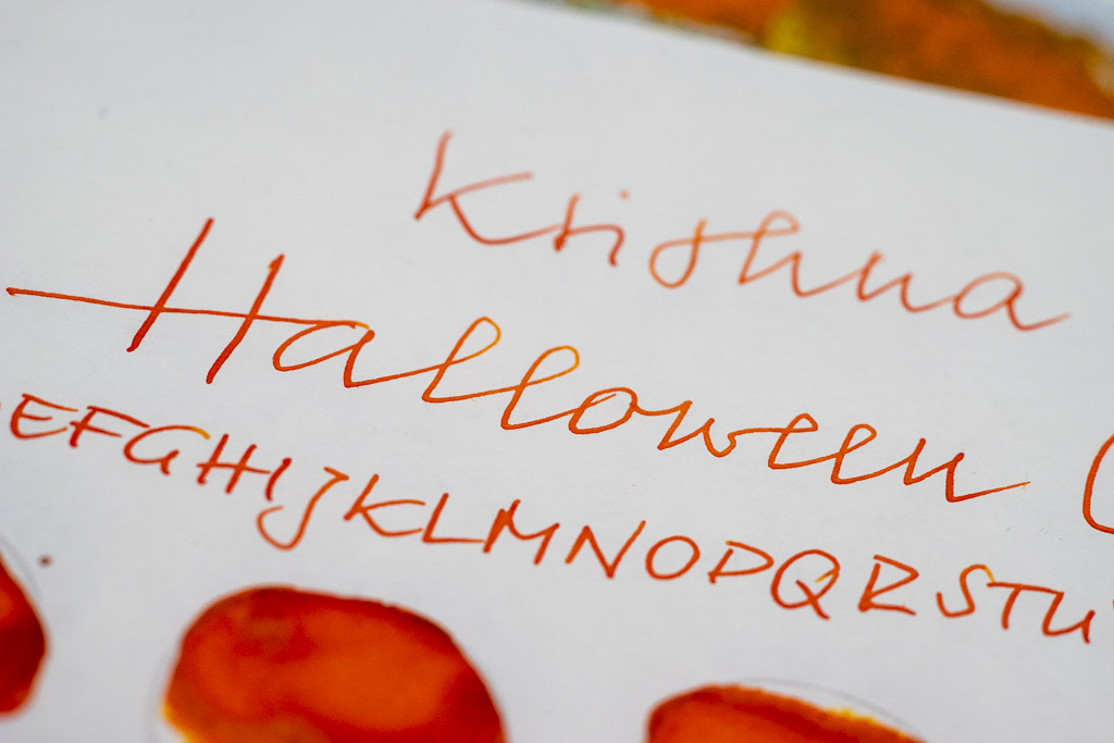 Krishna, Halloween Orange