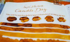 Tinte 35 von 365: Krishna, Candle Day