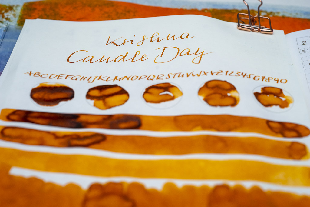 You are currently viewing Tinte 35 von 365: Krishna, Candle Day
