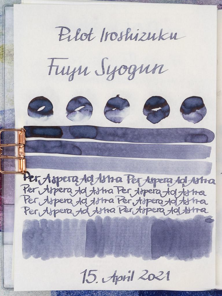 Pilot Iroshizuku, Fuyu-Syogun